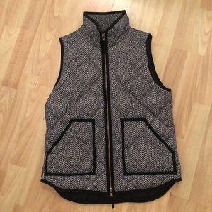 Gently worn Jcrew Herringbone vest!